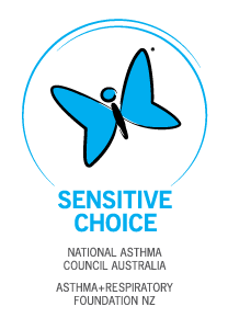 Partner with the National Asthma Council Australia's Sensitive Choice program